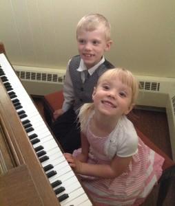 Bobby and his sister, Hannah