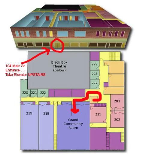 Deane Center Map